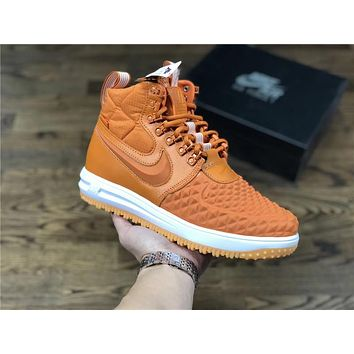 Original Nike Lunar Force 1 Duckboot orange Size 40-47