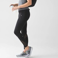 Lululemon Pace Pefect Gauze Fashion Yoga Sport Stretch Pants Trousers