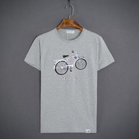 Short Sleeve Summer Men Round-neck T-shirts [10510790531]