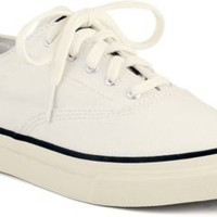 Sperry Top-Sider Cloud Logo CVO Sneaker IvoryCanvas, Size 10M  Women's