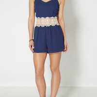 Crochet Medallion Romper | Jumpsuits & Rompers | rue21