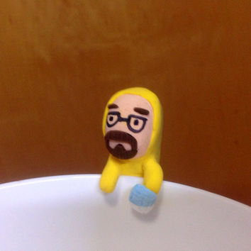 Heisenberg Breaking Bad Figurine Walter White Chibi Blue Meth Bowl Sitter