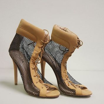 EMILY B. FOR ZIGINY DREAM BOOTIE - TAN (SAMPLE)