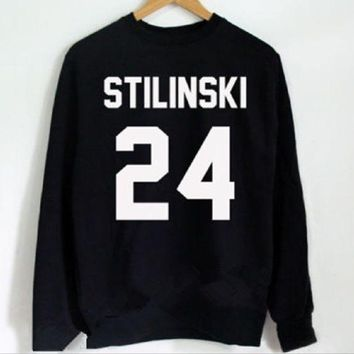 PEAPIH3 stilinski 24 [Front] new letter sweater front