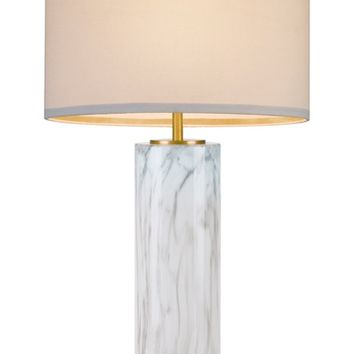 cupcakes and cashmere Marble Column Table Lamp | Nordstrom