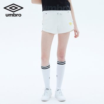 Umbro New Spring And Summer Women Leisure Sports Short Pants Loose Breathable Female Running Shorts UO182AP2702