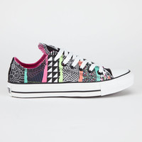 Converse Chuck Taylor All Star Womens Shoes White/Multi  In Sizes
