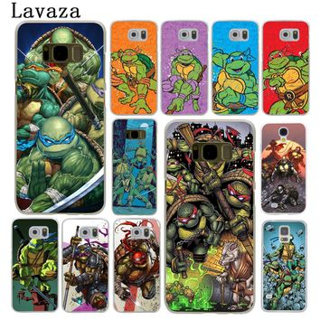Lavaza Teenage Mutant Ninja Turtles Hard Phone Cover for Samsung Galaxy S6 S7 Edge S8 S9 Plus S3 S4 S5 Case Shell