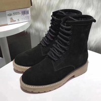 UGG Women Fashion Casual Low Heeled Shoes Boots-5