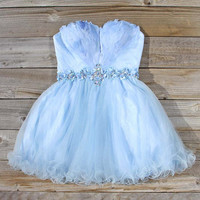 Spool Couture Feathered Sky Dress