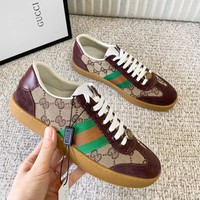GUCCI Fashion Men Women Casual Sport Flats Shoes Sneakers
