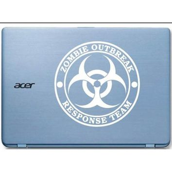 Zombie Outbreak Response Automobile Car Window Decal Tablet PC Sticker Automobile Window Wall Laptop Notebook Etc. Any Smooth Surface