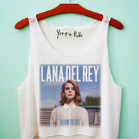 Lana Del Rey Born To Die Crop Tank Top