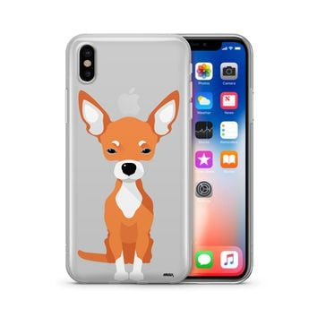 Chihuahua - Clear TPU Case Cover