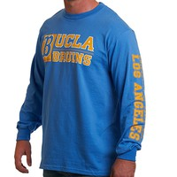 "UCLA Store - UCLA Big ""B"" Long Sleeve T-Shirt - Blue"