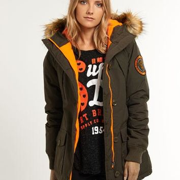 Superdry Everest Slim Polar Coat for Womens