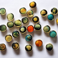 Entire solar system and moons bite size planets 25 bite size pieces by Vintage Confections - MADE TO ORDER