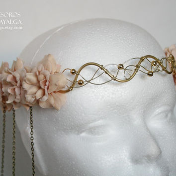 circlet wedding - floral crown