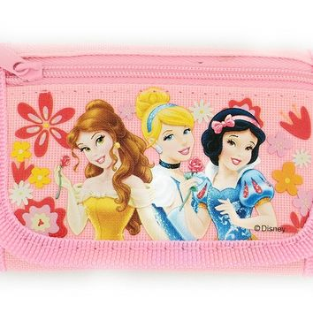 Disney Princess Velcro Trifold Wallet - Light Pink