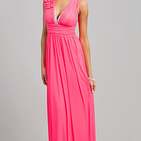 Low Cut Long Prom Dress by City Triangles