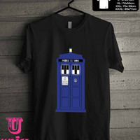 Doctor Who Police Box Tardis T-Shirt for man shirt, woman shirt **