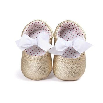 Newborn Baby Moccasin Babies Shoes Soft Bottom PU Leather Toddler Infant First Walkers Boots