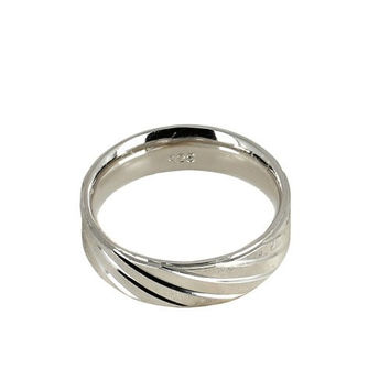 Silver Alloy Ring for Men Size 10 Indian Jewelry Unusual