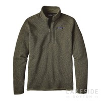 Men's Better Sweater® 1/4-Zip Fleece in Industrial Green | Lakeside Cotton
