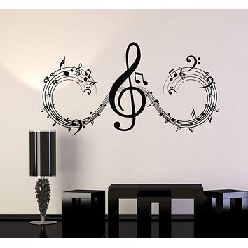 Vinyl Wall Decal Musical Notes Music Art Home Room Decor Stickers Unique Gift (ig4698)