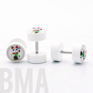 Lucky Cat Cheater Fake Plugs BMA