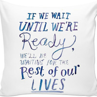 Quote On Pillow