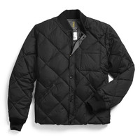 Liner Down Jacket In Black