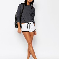 ASOS | ASOS Basic Cotton Shorts with Contrast Binding at ASOS