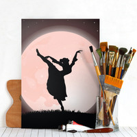 Moon Dancer by Fotios Pavlopoulos | Displate