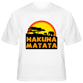 Youth African Tree Hakuna Matata T-Shirt