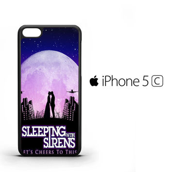 sleeping with sirens lets cheer cover iPhone 5C Case