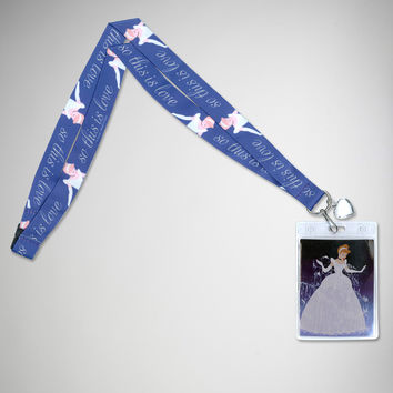Cinderella This is Love Lanyard