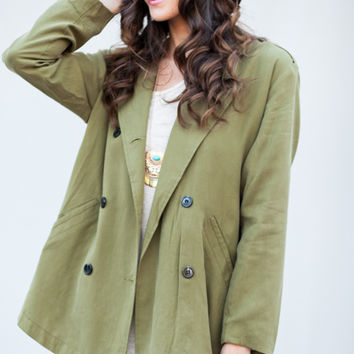 Double Dutch Army Green Jacket