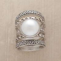 PEARL PLEASURE DOME RINGS S/5         -                Rings         -                Jewelry         -                Outlet         -                Categories                       | Robert Redford's Sundance Catalog