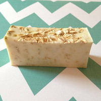 Honey Almond Exfoliating Shea Butter Soap Handmade Soap, Melt & Pour Soap, Honey Soap, Facial Soap, Gifts under 10, Party Gifts