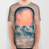 Rise Again (Solar Eclipse) All Over Print Shirt by Soaring Anchor Designs
