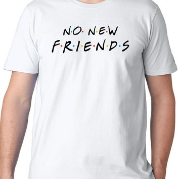 No New Friends Show Drake Shirt Mens
