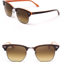 Ray-Ban Colorblock Clubmaster Sunglasses | Bloomingdale's