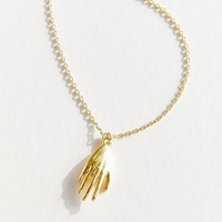 Hand Pendant Necklace | Urban Outfitters