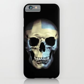 Swedish Skull iPhone & iPod Case by Nicklas Gustafsson | Society6