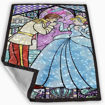 Cinderella Blanket for Kids Blanket, Fleece Blanket Cute and Awesome Blanket for your bedding, Blanket fleece **