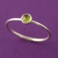 Peridot Stacking Ring - Spiffing Jewelry