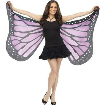 Soft Butterfly Adult Halloween Wings Accessory - Walmart.com