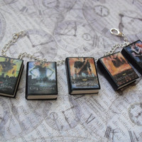The Mortal Instruments book charm bracelet