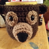 Little Brown Bear Cup/Mug Cozy
